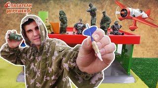 Спасатели Игрушек: Майор Бу и Военный Парад в Городе Игрушек!