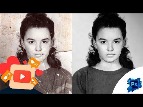 Восстановление старой фотографии с помощью Photoshop