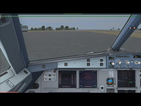 [FSX] Airbus A320 (Aerosoft) with First Officer's Checklist - No Comment