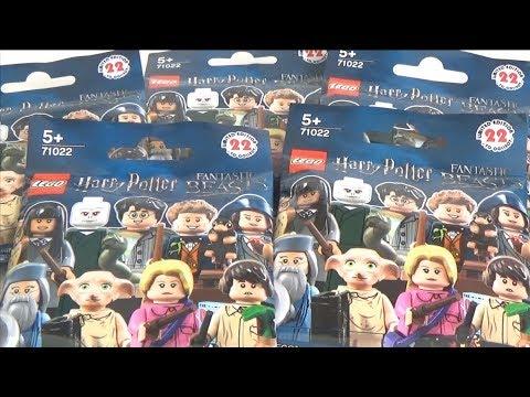 J'AI OUBLIÉ SA REDINGOTE - LEGO MINIFIGURES HARRY POTTER & FANTASTIC BEASTS