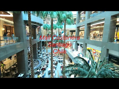 Costanera Center Y Mall Costanera Center En Santiago, Chile