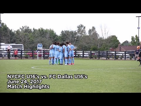 ACADEMY HIGHLIGHTS | NYCFC U16s vs. FC Dallas | 06.24.17