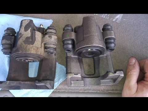 2006 Ford Explorer Rear Brake Calipers Replacement Youtube