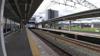EF210牽引貨物列車(下り)相見駅通過 DD200形ディーゼル機関車を連結していました(^^)