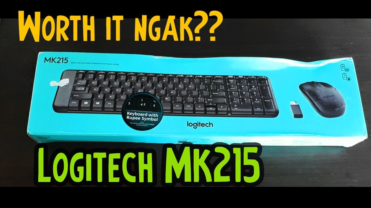 Review singkat Logitech MK215 (Indonesia)