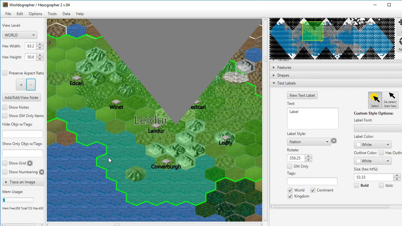Hexographer 2/Worldographer New Features Overview (revised)