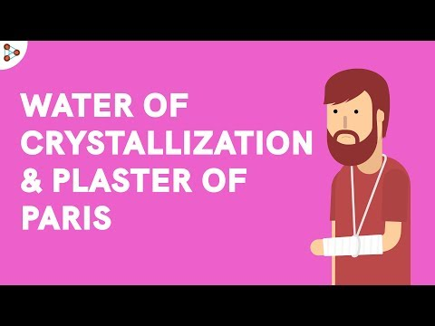 Water Of Crystallisation And Plaster Of Paris - CBSE 10
