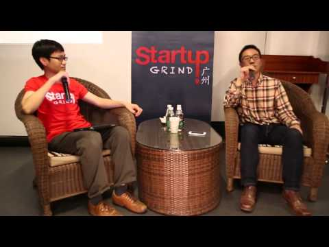 Peng Jie (3G Network Tech) at Startup Grind Guangzhou
