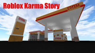 Roblox Karma Story: Gas station thief