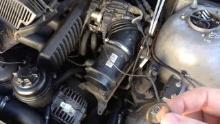 BMW Major Drama E39 NO start and runs badly if it does, P0335 code (Part 2) THE FIX !!!