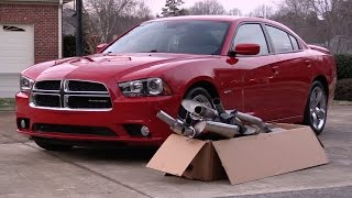Borla S-Type Exhaust Upgrade! Unboxing, Installation & Initial Impressions - 2012 Dodge Charger RT