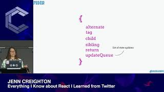 Jenn Creighton | Everything I Know about React I Learned from Twitter | ComponentsConf 2019
