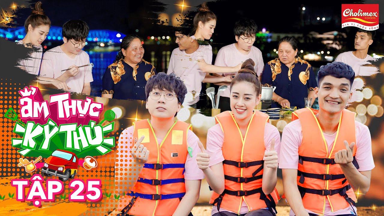 Ẩm Thực Kỳ Thú | #25: Khánh Vân muốn làm dâu xứ Huế khi nấu chè khoai tía, bún bò bên bờ sông Hương