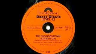 Level 42 - The Sun Goes Down (Living It Up) (Up Front Remix)