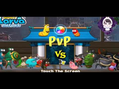 larva-heroes-battle-league-pvp-(road-to-+1200point)-gameplay