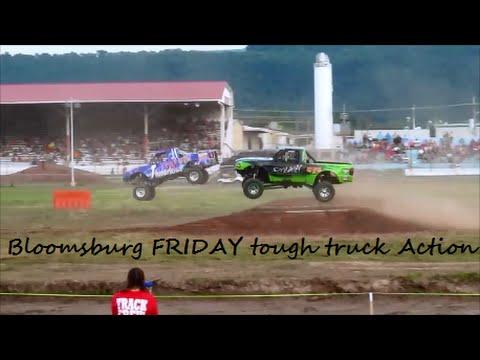 BLOOMSBURG/STOCK & MODIFIED TOUGH TRUCK/FRIDAY EVENT