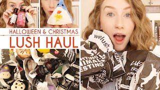 Huge Festive Lush Haul • Halloween & Christmas '14 Thumbnail