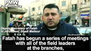 Fatah preparing intifada if US embassy is moved to Jerusalem