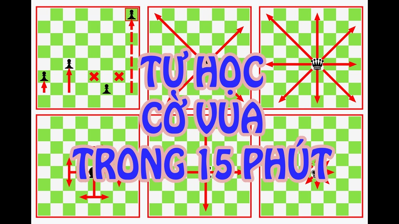 Tự Học Cờ Vua Trong 15 PHÚT    Playchess1vn