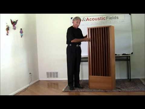 Quadratic Diffusor Absorber (QDA) - www.AcousticFields.com