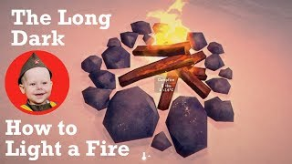 The Long Dark: How to Light a Stove and a Campfire (PS4 2018)