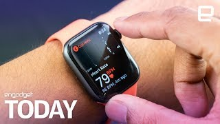 Apple Watch 4's ECG feature is rolling out today | Engadget Today