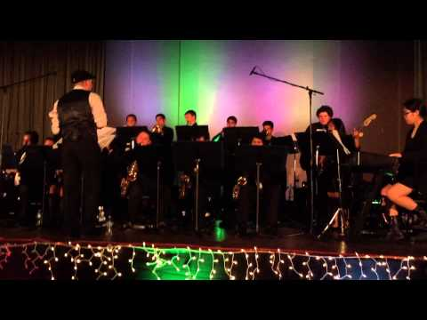 St Genevieve High School Jazz Band Swing Night 2015