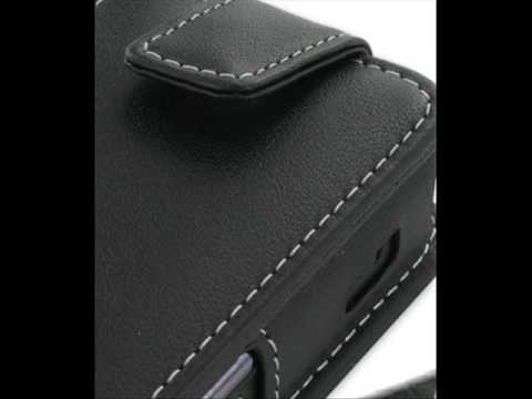 PDair Leather Case for Samsung SGH-D980/SGH-D988 - Flip Type (Black)