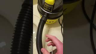 Vacuum vs water