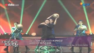 Adhitya Alkatiri dan Kingz Crew Yogyakarta 10 Besar The Dance Icon 2