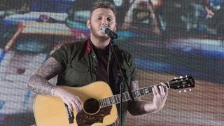 James Arthur sings Adele