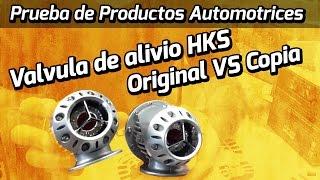 como diferenciar una valvula de alivio hks original de una hks copia o replica blow off bov