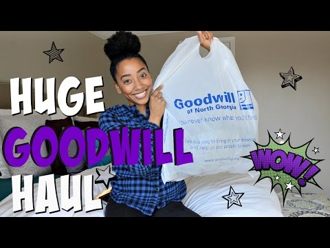 HUGE WINTER GOODWILL TRY-ON HAUL 2016! -...