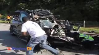 Lima Maut Kemalangan Ngeri Mpv Dan Lori