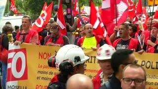 French Labour Protests: What is the CGT?