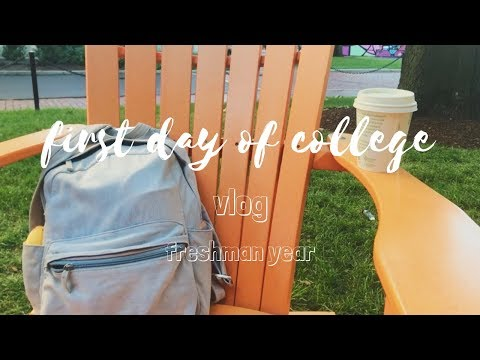 first day of college vlog | northeastern university