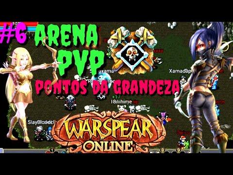 Warspear Online - #6 Arena e PvP - Consegui moedas da grandeza !!!