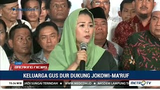 Download Video Resmi ! Keluarga Gus Dur Deklarasi Dukung Jokowi-Ma'ruf MP3 3GP MP4