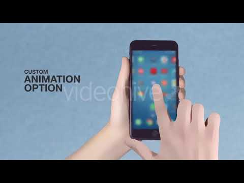 Cartoon Smartphone App Promo ToolKit | After Effects Project Files -  Videohive template