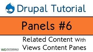 видео drupal 6 panels