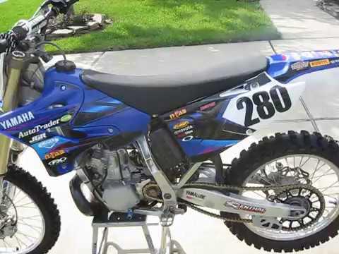 2006 Yamaha YZ250 - YouTube