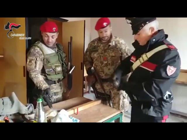 Reggio Calabria-Ritrovato materiale esplodente.