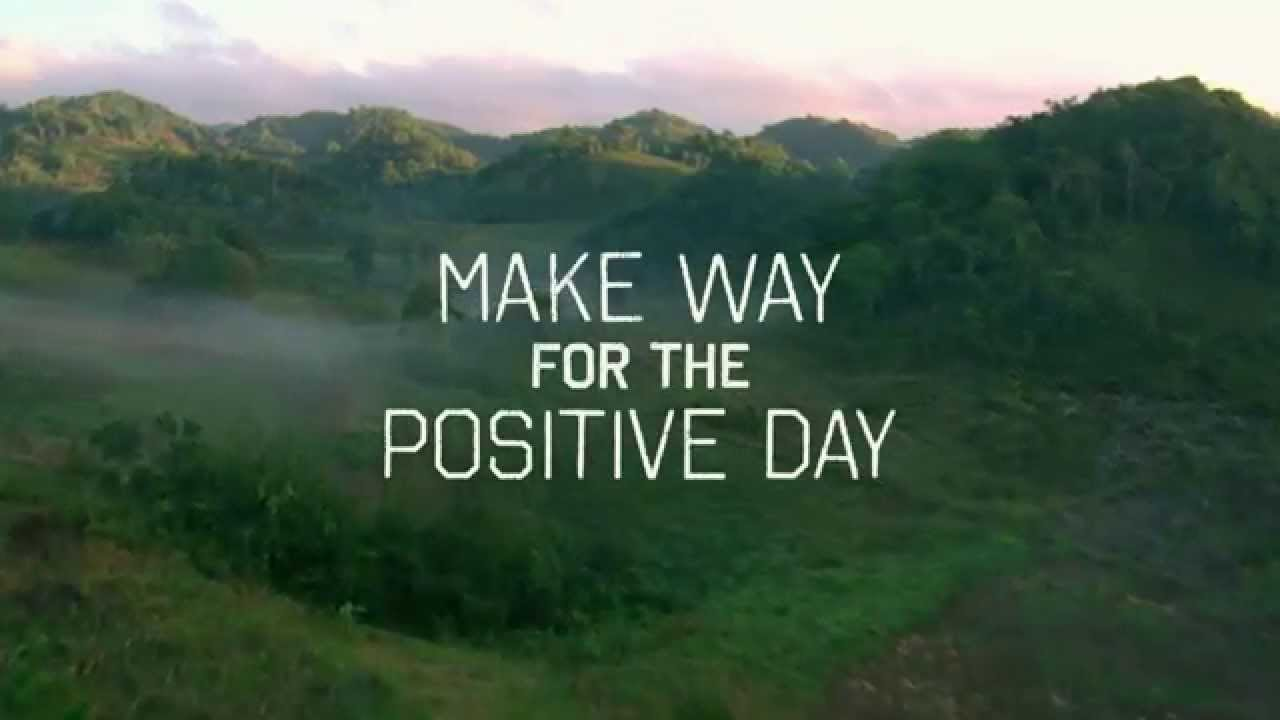 Make Way For The Positive Day November 18 2014 Marleynatural
