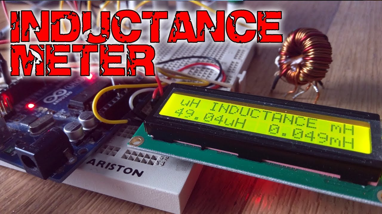 inductance meter with arduino youtubeinductance meter with arduino