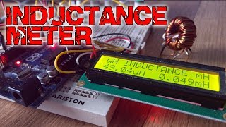 Inductance meter with Arduino