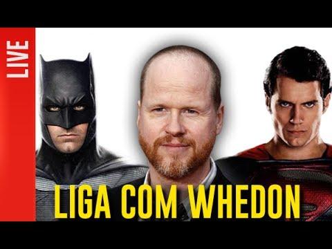 Como será a Liga da Justiça com Joss Whedon | OmeleTV AO VIVO