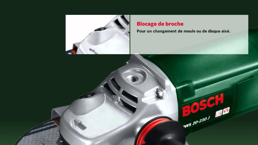 prix le plus bas images détaillées esthétique de luxe Meuleuse angulaire Bosch PWS 20-230