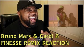 Bruno Mars & Cardi B - FINESSE REACTION/REVIEW