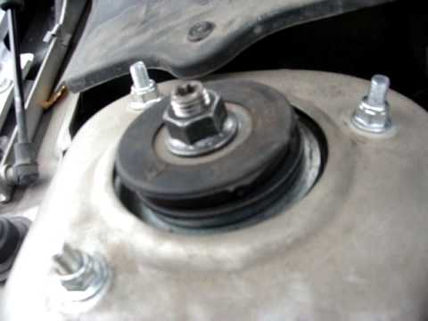 замена подшипника передней стойки на volvo xc70