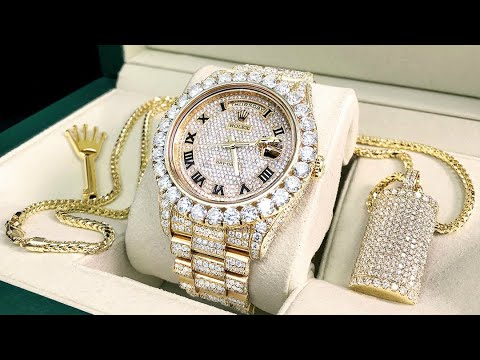 factory authentic 08b3b 03c52 Diamond Watches – To Bling or Not to Bling